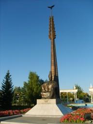 г.Кокшетау.Памятник Абылай хана